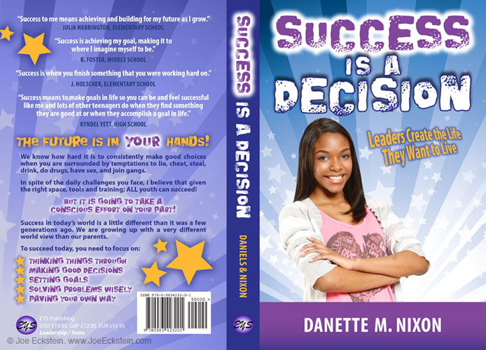 success-is-a-decision_book-cover-design